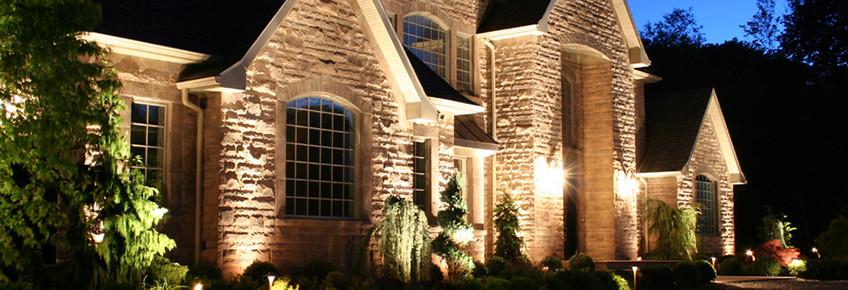 security of landscape lighting