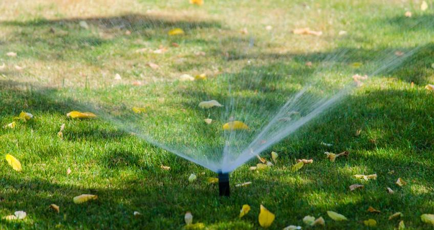 Spring Sprinkler Heads System Check