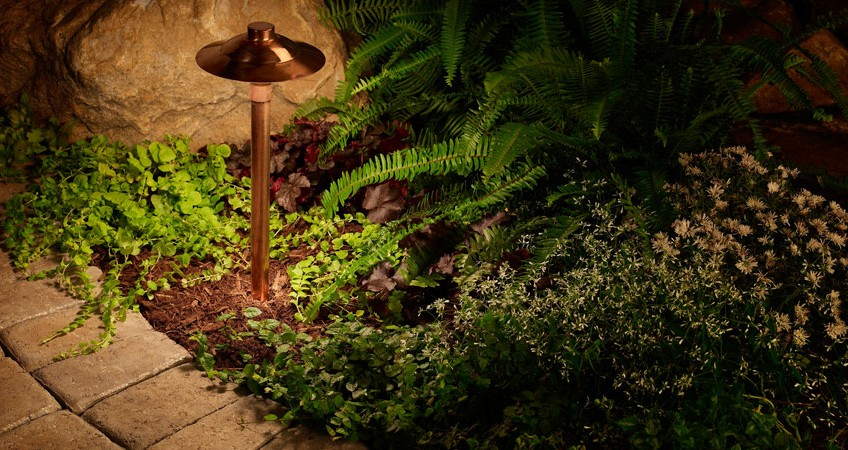 DIY outdoor lighting system, LEDs