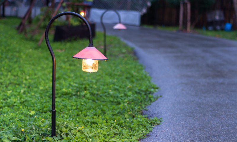 garden lighting, exterior lighting