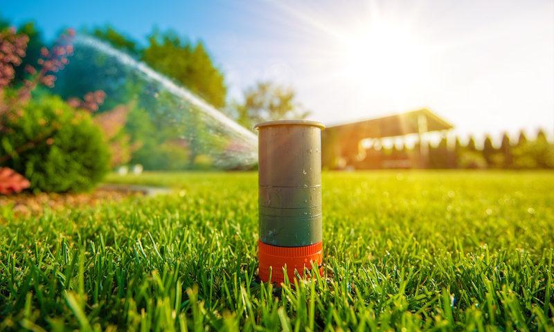 Fall irrigation system preparations