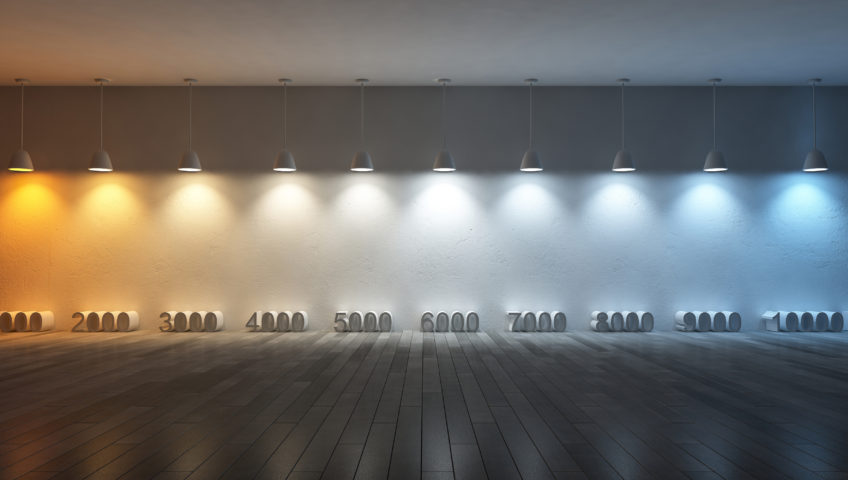 color temperature and landscape lighting