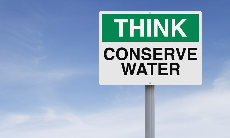 conserve water this spring