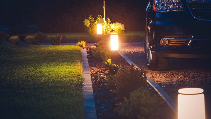 fall landscape lighting kansas city
