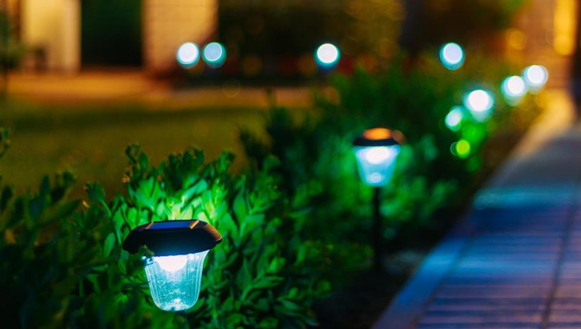 summer landscape lighting kansas city