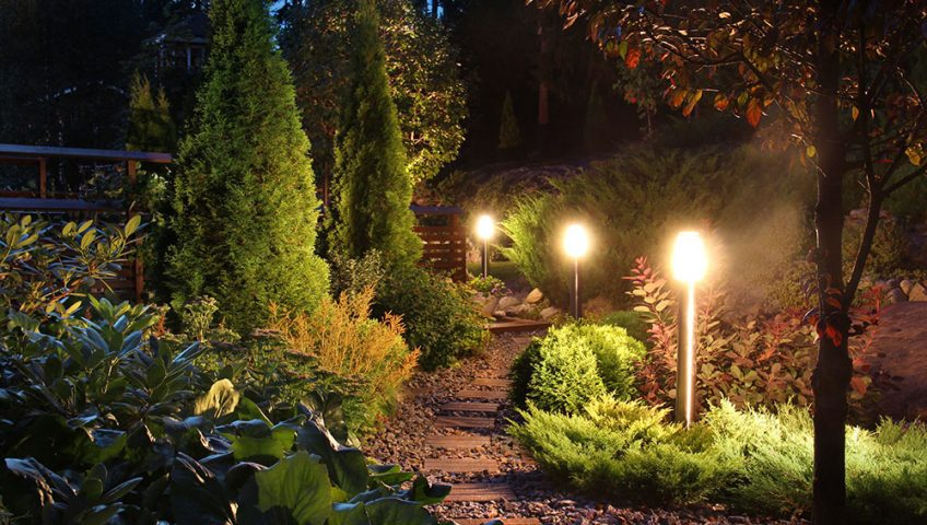 Invest in Professionally Installed Landscape Lighting